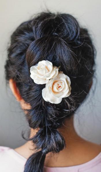 Einfache Braut Hochsteckfrisur Zum Selbermachen