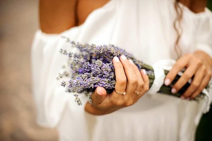 Hochzeitsanstecker Lila Bildergalerie Hochzeitsportal24