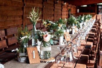 Tischdeko Hochzeit Diy Hochzeitsdeko Ideen 2020 Glamour