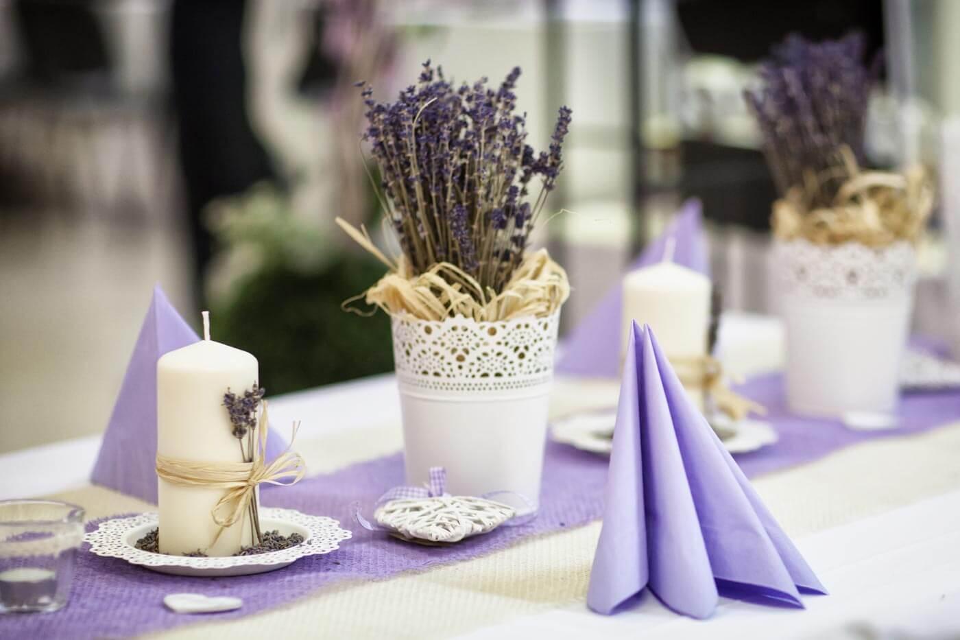 Neu Haarnadel Haarschmuck Braut Boho Blumen Lavendel Eur 6 50