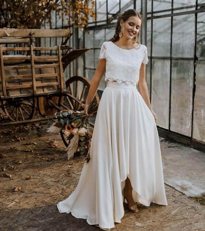 Brautkleid Im Boho Style Torrox Hamburg Brautmode