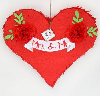 Pinata Herz Xxl Herz Heiratsantrag Hochzeit Geldgeschenk Fullbox