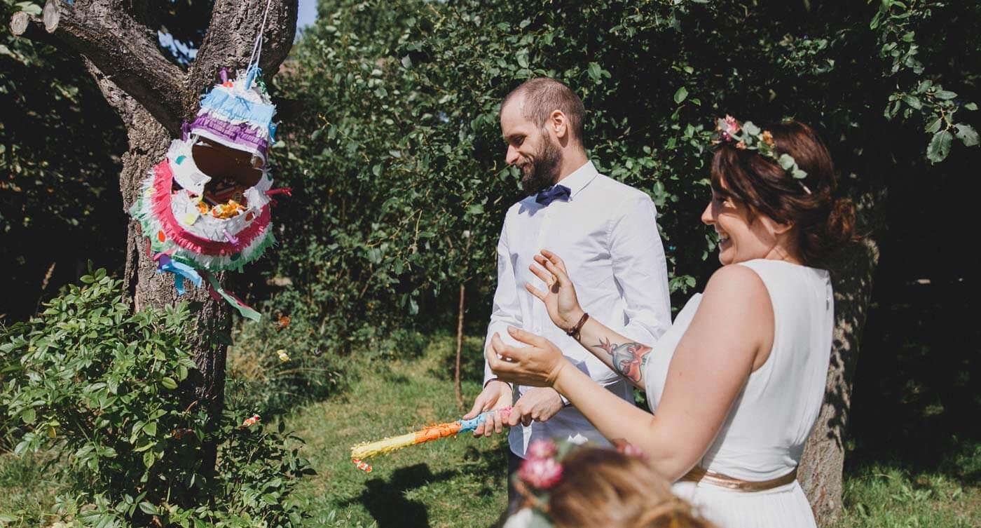 Diy Pinata Herz Basteln Zur Hochzeit Hochzeits Pinata Diy Blog