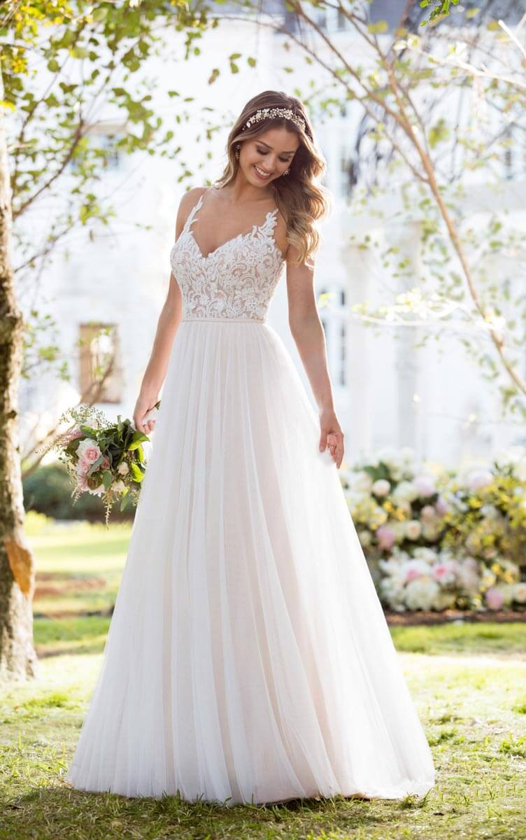 Brautmoden Trends 2019 Boho Style Und Vintage Looks Fur Curvys
