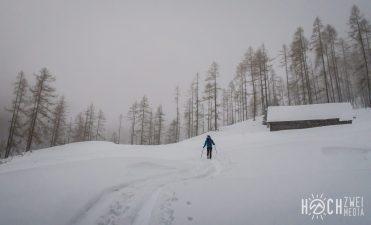 Winterwunderland bei der Grassegger Alm