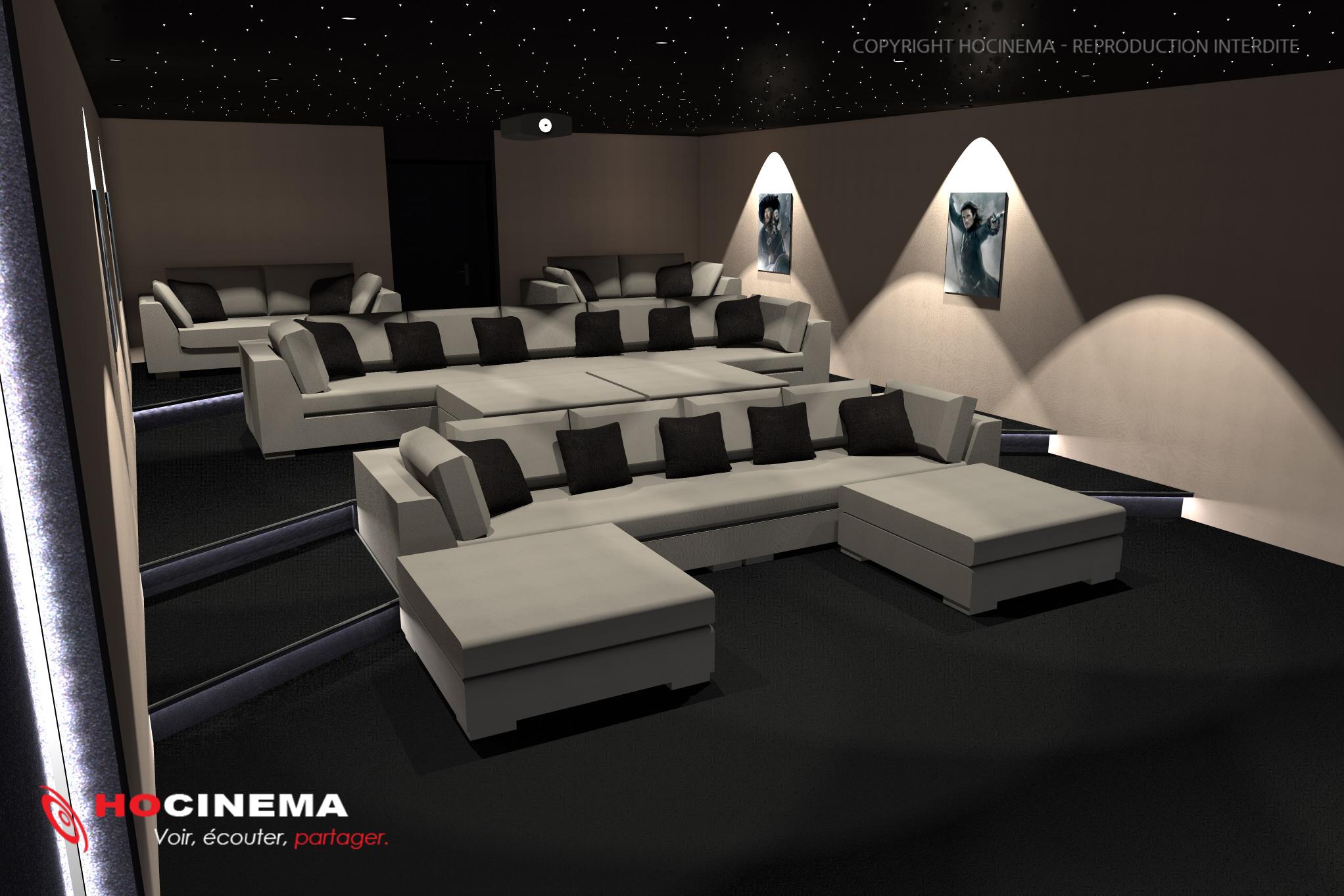 Le Concept 01b Une Salle Home Cin 233 Ma R 233 Alis 233 E Sur Mesure