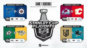 Playoff Rivalries – Western Conference Round 1