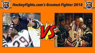 HockeyFights.com Fantasy Fighting Championship Bracket: Round One – Day One