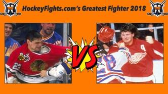 HockeyFights.com Fantasy Fighting Championship Bracket: Round Three – Day Two