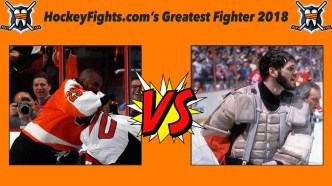 HockeyFights.com Fantasy Fighting Championship Bracket: Round Two – Day One