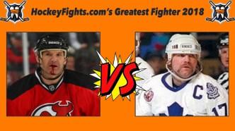 HockeyFights.com Fantasy Fighting Championship Bracket: Round One – Day Six