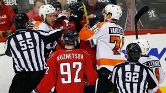 Flyers-Capitals Series Continues