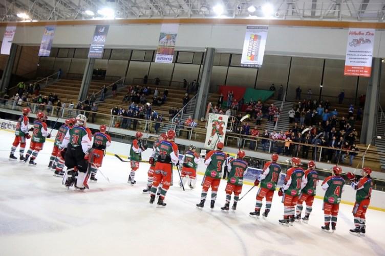 Photo hockey Division 1 - Division 1 : 24ème journée : Mont-Blanc vs Strasbourg  - D1 : Mont-Blanc solide et logique vainqueur