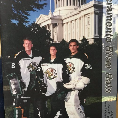 1996 RHI Roller Hockey program. Volume 1. Issue 2. July 1996.