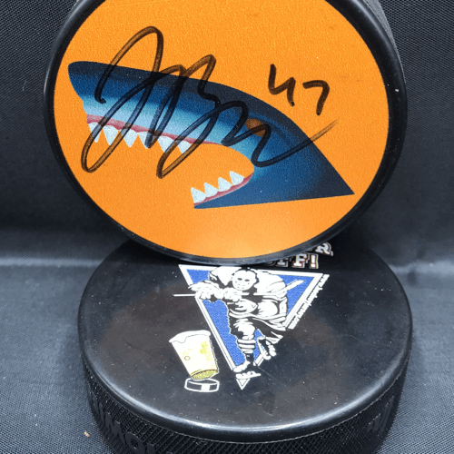 2017-18 San Jose Sharks Limited Edition Mystery Puck #47 Joakim Ryan