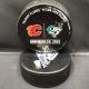 2015 San Jose Sharks vs Calgary Flames Used warm up puck. November 28 2015.