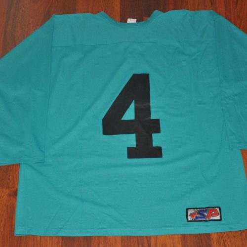 2009 China Sharks Training camp jerseys. Obtained from the China Sharks team. Light weight material.