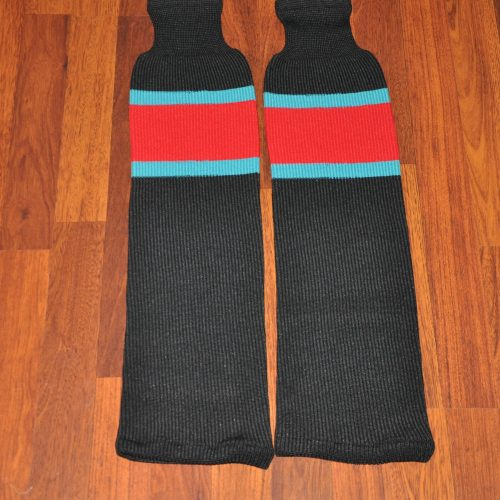 China Sharks Game Worn Hockey socks.