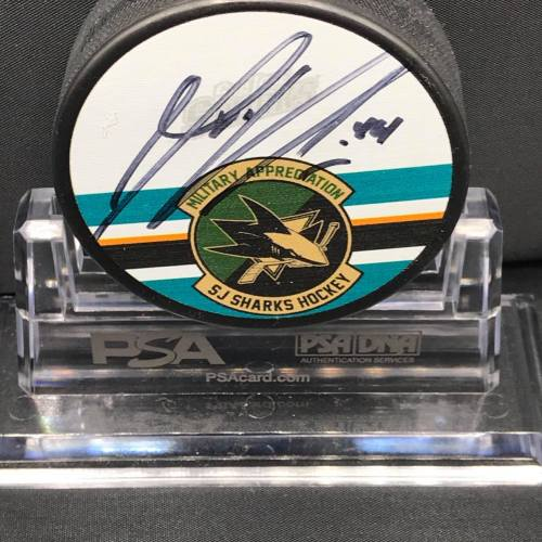 2015-16 San Jose Sharks Foundation Mystery Puck Series Limited Edition Puck. #44 Marc Edouard Vlasic.