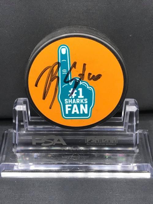 2017-18 San Jose SharksFoundation Limited Edition Mystery Pucks Emoji. #7 Paul Martin.