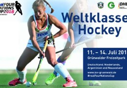 Four Nations Cup 2018  – Damen – GER vs. NZL – 12.07.2018 19:30 h