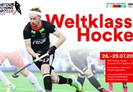 Four Nations Cup 2018  – Herren – GER vs. ARG – 29.07.2018 11:45 h
