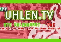 UHLEN.TV – HTCU vs. DHC – 02.09.2018 12:00 h
