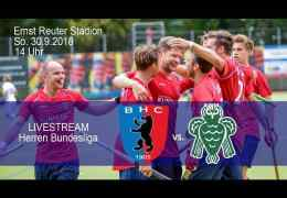 BHC Berliner Hockeyclub – BHC vs. HTCU – 30.09.2018 14:00 h