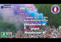 UHC Live – UHC vs. MHC – 13.10.2018 15:30 h