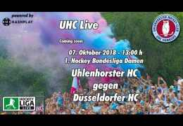 UHC Live – UHC vs. DHC – 07.10.2018 13:00 h