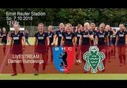 BHC Hockey-Bundesliga – BHC vs. HTCU – 07.10.2018 12:00 h