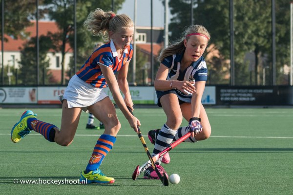 veldhockey: Ypenburg MD2 - hdm MD3