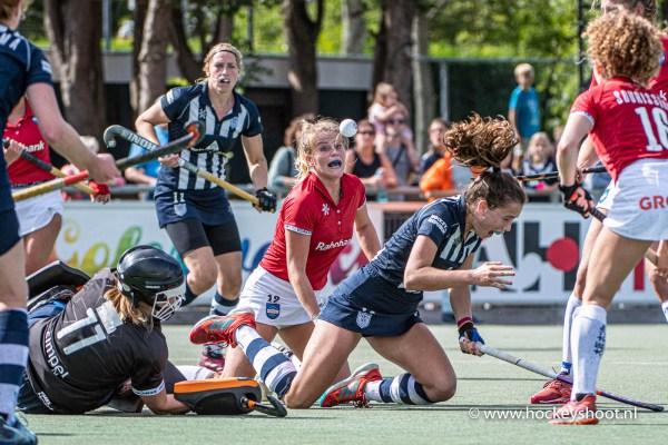Hockey: Vrouwen HDM v Hurley: Den Haag