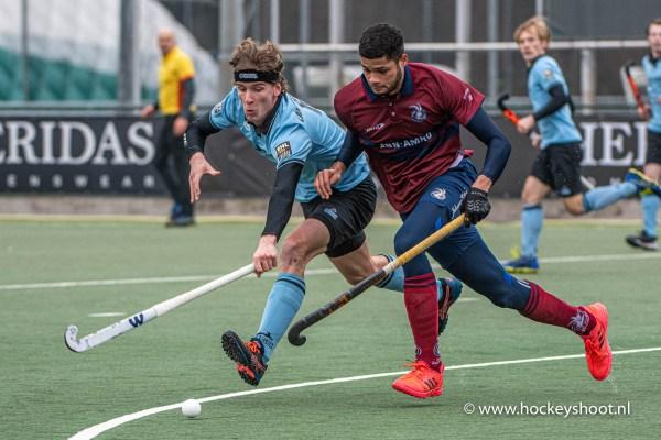 06-02-2021: Hockey: HGC H1 v Klein Zwitserland H1: Den Haag Hockey Hoofdklasse heren 2021