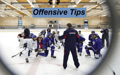 Offensive Tips for Hockey Players