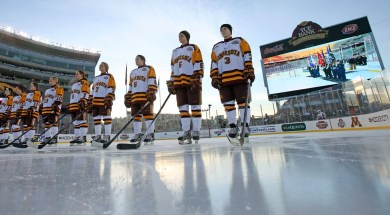 Gopher Women's Hockey: 2014 Hockey City Classic