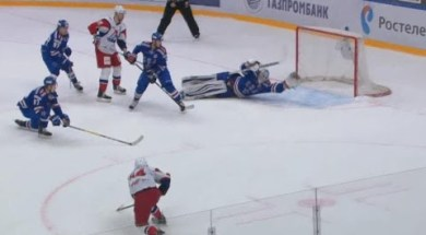 Mikko Koskinen's Sick Stick Save