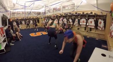 Syracuse Women Play Dodgeball