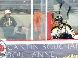 Veilleux Makes $100 In Penalty Box