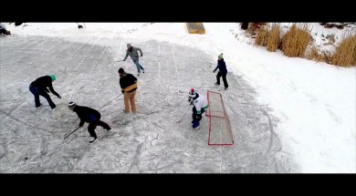 Canadian Pond Hockey (Okanagan Style)