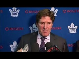Mike Babcock: 'We Got Slapped!'