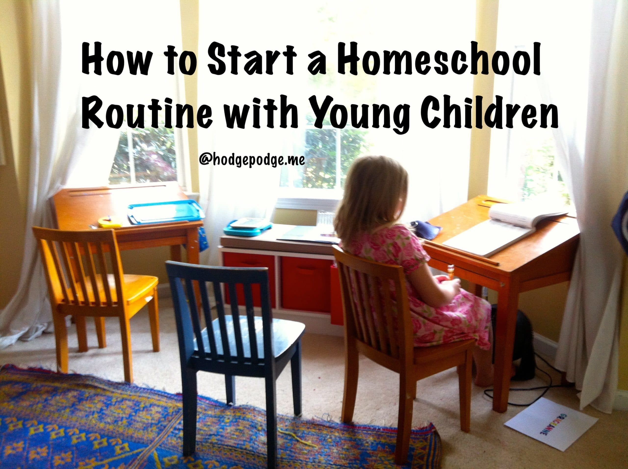 How To Start A Homeschool Routine