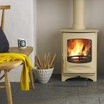 Chimney sweep of a charnwood woodburning stove devon