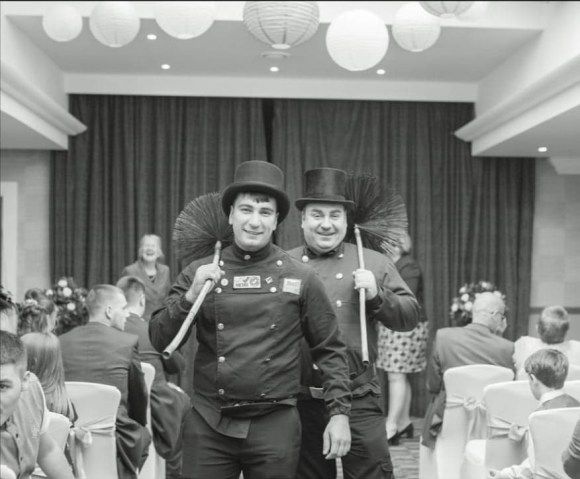Danny and Daniel Hodgsons are the owners of Hodgsons Chimney Sweeps