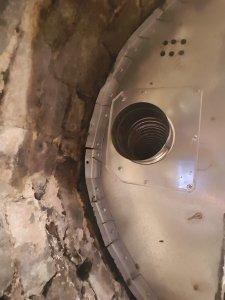 Dura Flue 904 grade Stainless steel Flue Liner Installed by Hodgsons Chimney Sweeps