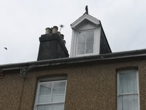 Hodgsons Chimney Sweeps, Chimney Sweeping and Smoke Testing an open fire in Teignmouth