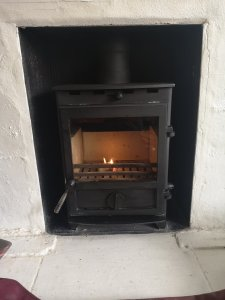 Fireline fx5 after a thorough sweep and service in Torquay