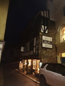 Chimney Sweeping at the Bayards Cove Inn, Dartmouth, TQ6
