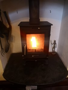 Hodgsons Chimney Sweeps Plymouth, Chimney Sweeping and Servicing an Ecosey Multifuel Stove in Pymouth, Devon