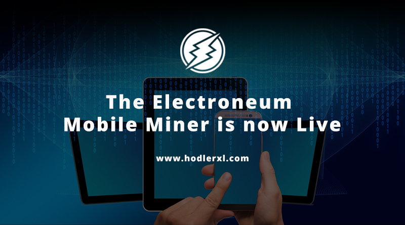 Cryptocurrency Electroneum